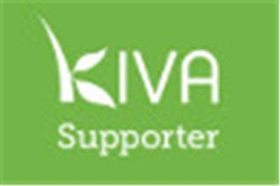 Kiva supporter logo